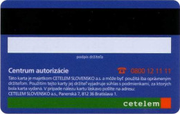 Purchase cards - Cetelem
